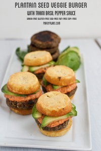 Veggie Burgers - Purely Twins